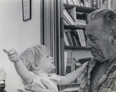 Bateson et sa fille Nora